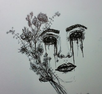 art-drawing-face-flowers-Favim.com-1966085